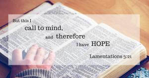 Lamentations 3:32 (ESV)
