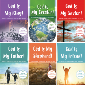 devotionals available for purchase on site