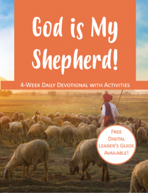 Cover Image for children's devotional God is My Shepherd!
