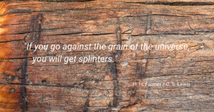 Quote by H H Farmer and C S Lewis