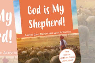 God is My Shepherd Devotional Book