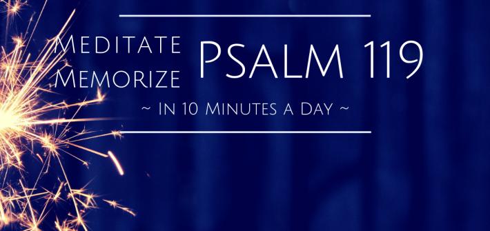 Psalm 119 Header