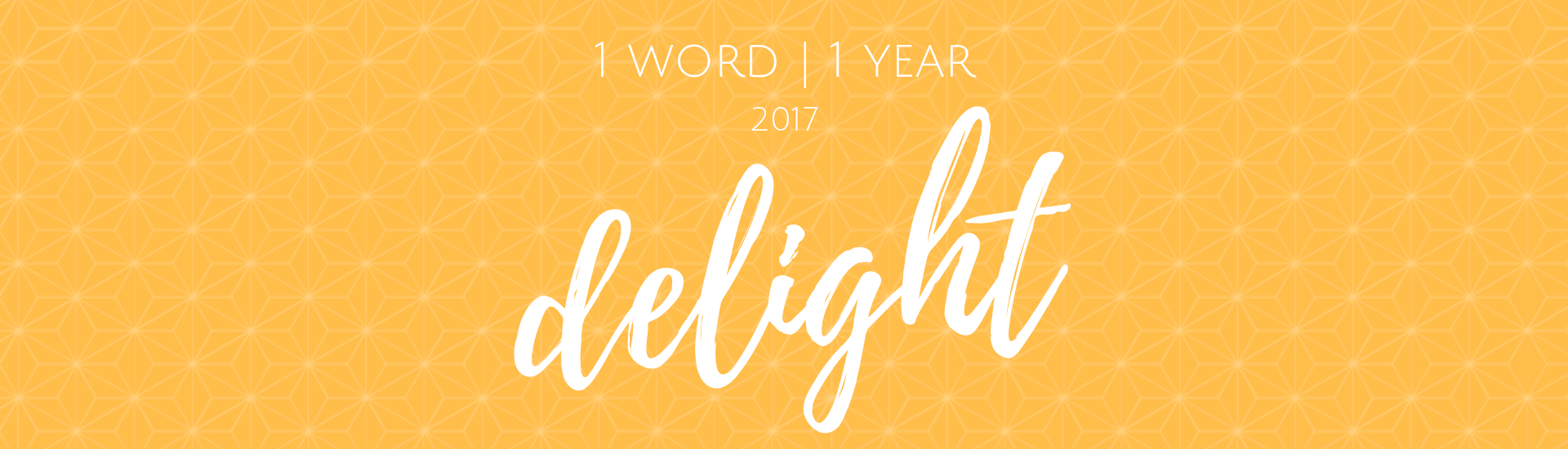 1 Word for 1 Year 2017