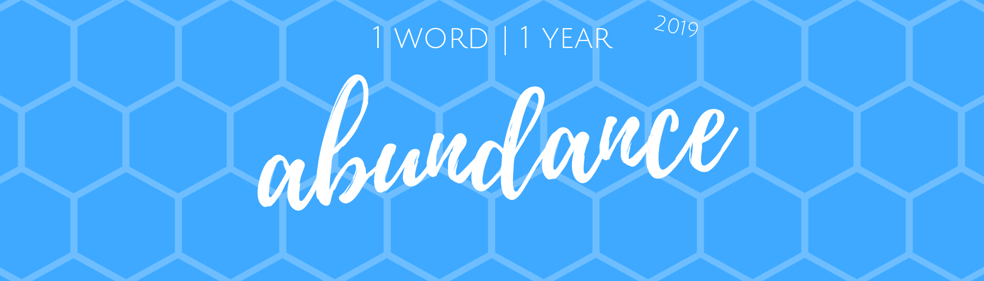 1 Word 1 Year 2019 Header