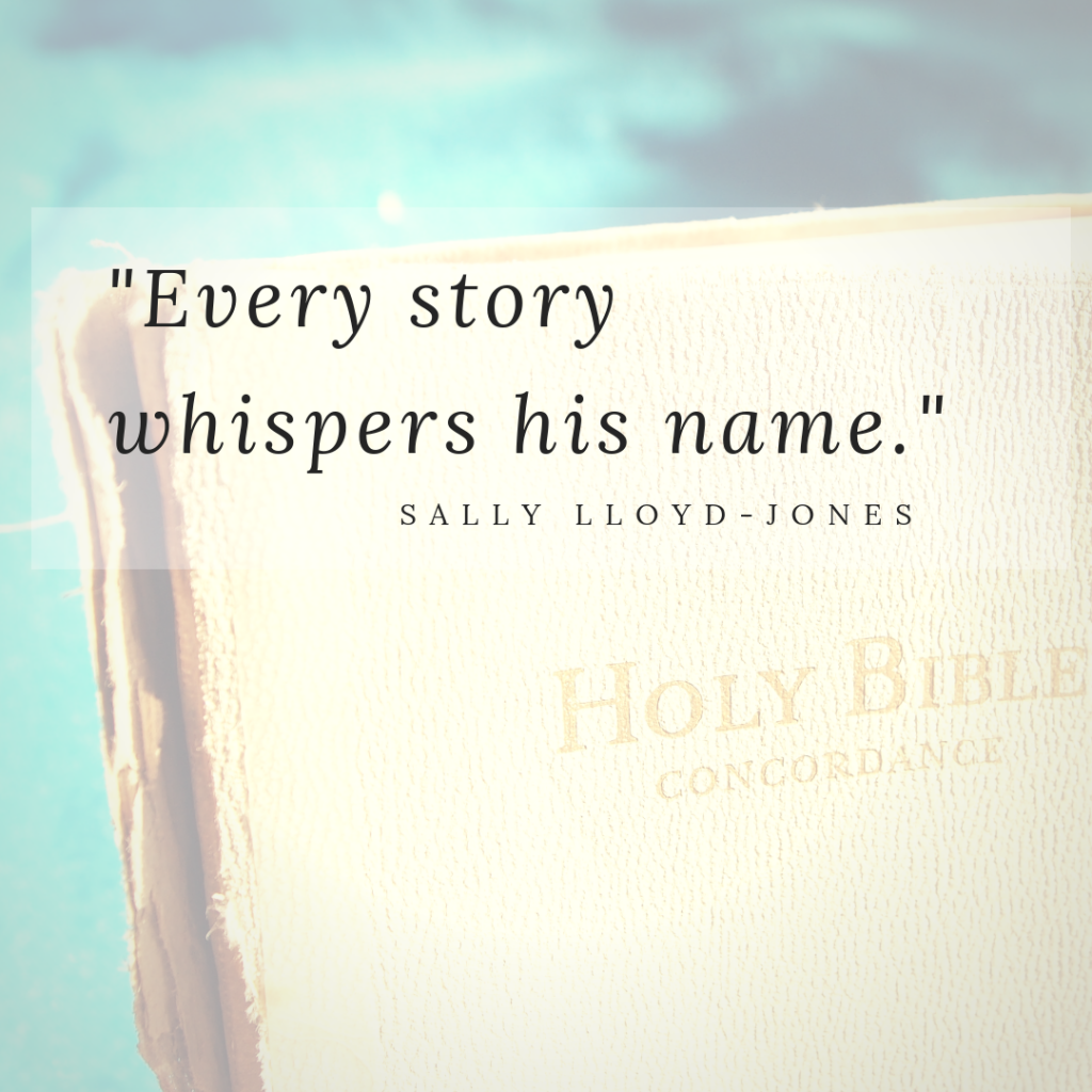 Sally Lloyd Jones quote