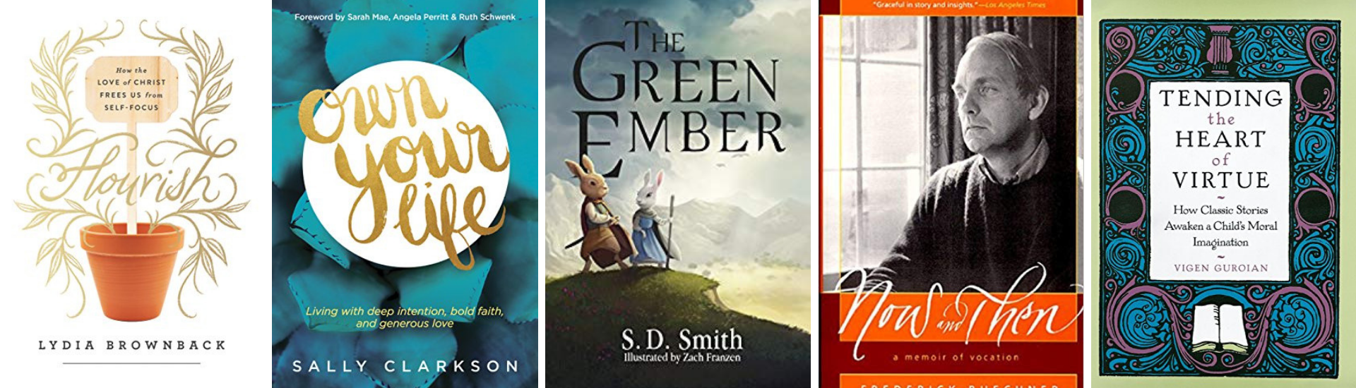 5 book cover images
