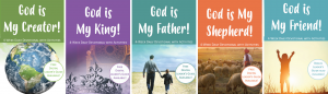 God is My Friend Series - 5 devotional covers