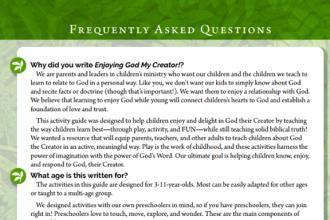 imgae of FAQ page